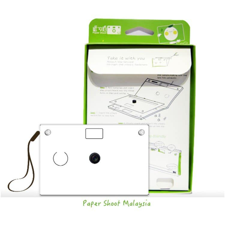 paper camera instructions