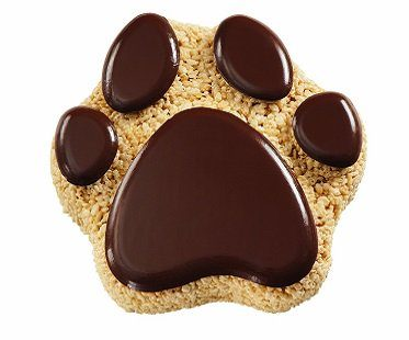 paw print cake pan animal