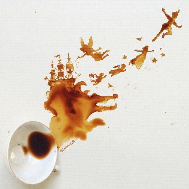 peter pan coffee