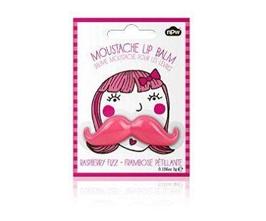 pink mustache lip balm pack