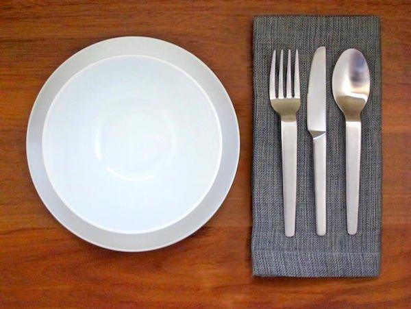plate cutlery