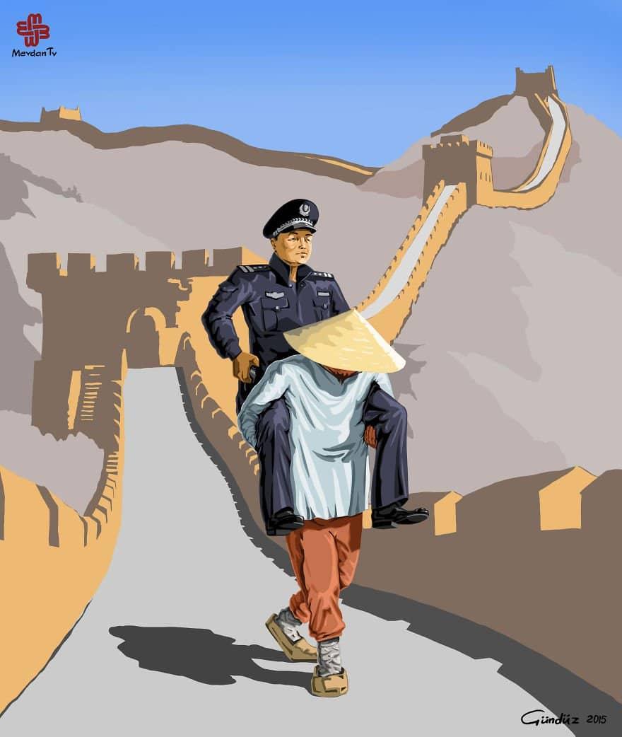 police-china