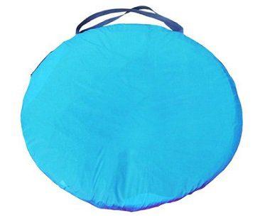 pop-up tent blue