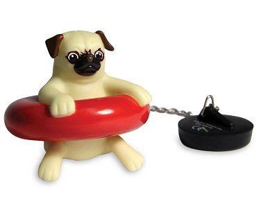 pug plug bath