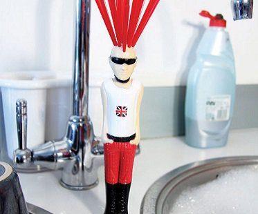 punk washing up brush