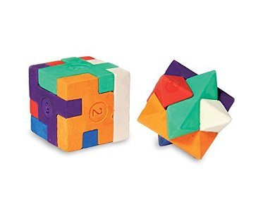 puzzle erasers cube star