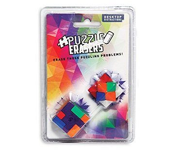 puzzle erasers pack