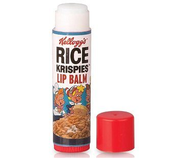 rice krispies lip balm retro
