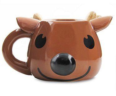 rudolph heat changing mug reindeer