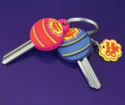 scented lollipop key covers