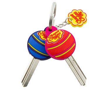 scented lollipop key covers chupa chups