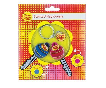 scented lollipop key covers pack