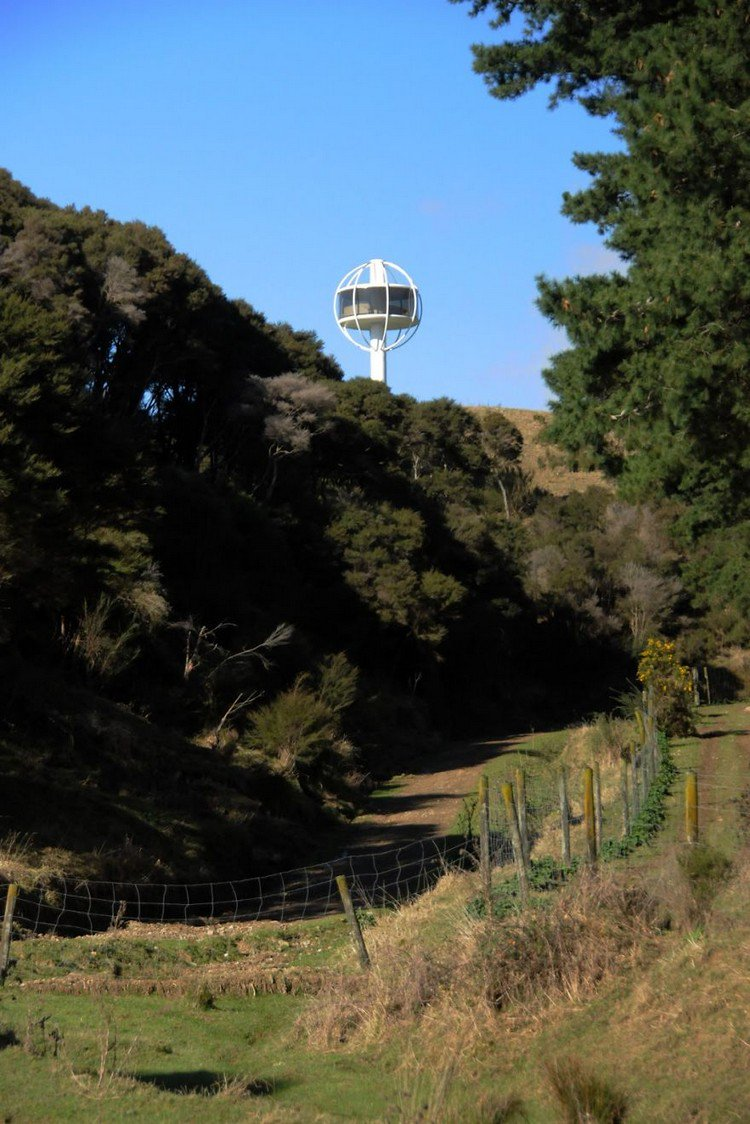 Man Cave New Zealand : The skysphere is ultimate man cave meters in air