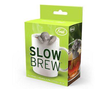 sloth tea infuser box