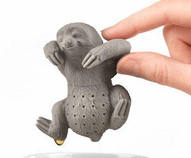 sloth tea infuser mug