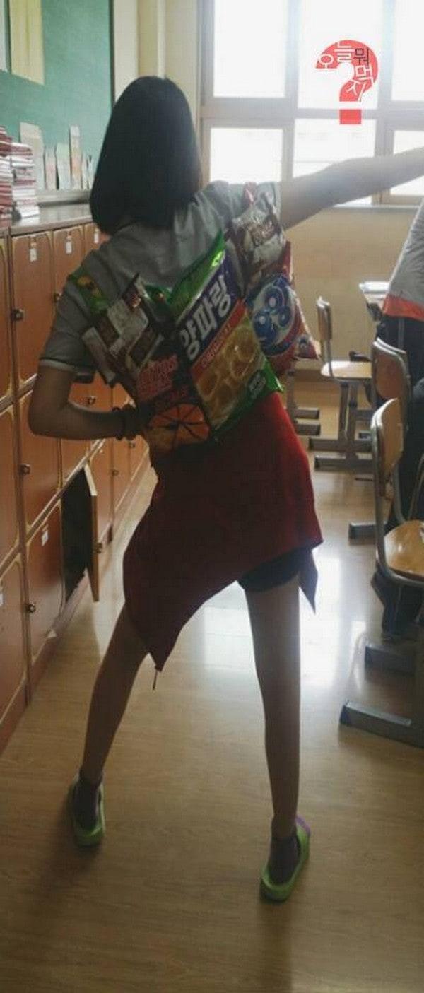snackpack behind