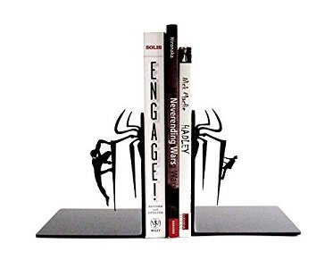 spider man bookends