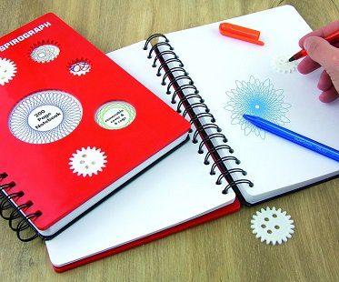 spirograph notebook