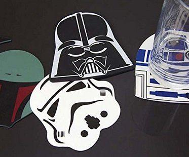 star wars silicone coasters