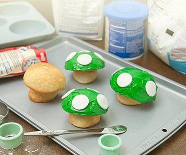 super mario mushroom cupcake pan