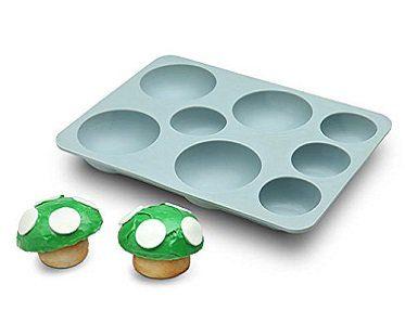 super mario mushroom cupcake pan baking