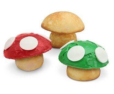 super mario mushroom cupcake pan baking cakes