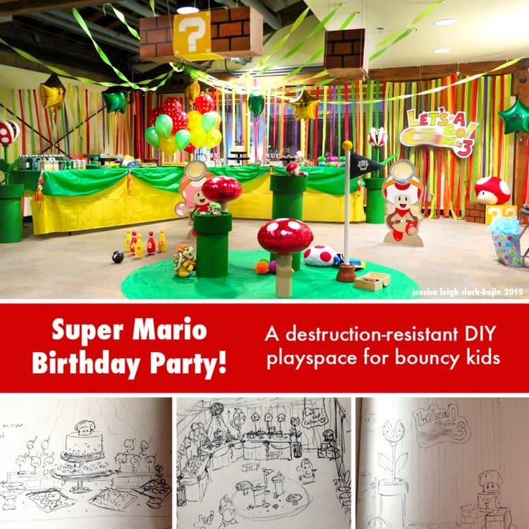 Super Mario Sketches