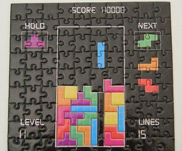 tetris brainteaser puzzle complete
