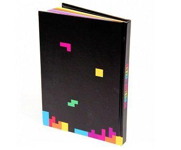 tetris notebook back