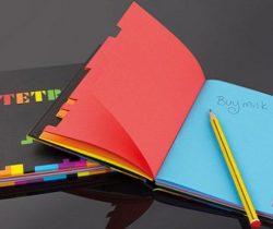 tetris notebook colours