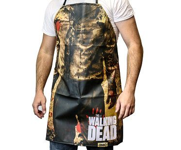 the walking dead zombie apron