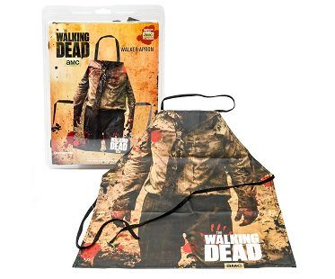 the walking dead zombie apron pack