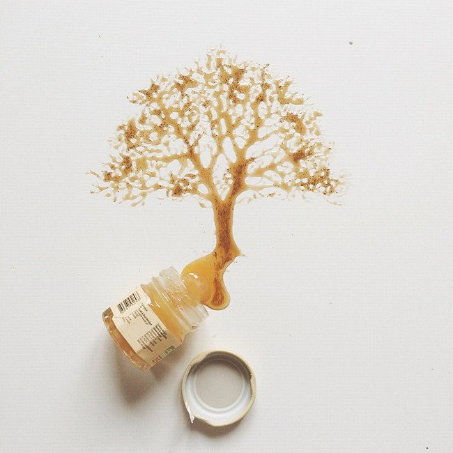 tree honey