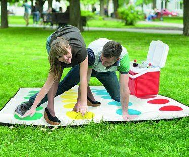 twister picnic blanket