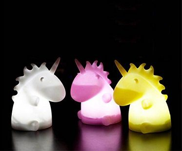 unicorn light colours