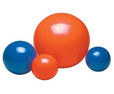 virtually indestructable dog ball sizes
