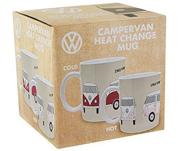 vw campervan heat changing mug box