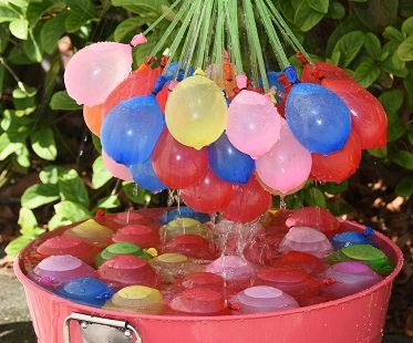 water balloons hose attachment