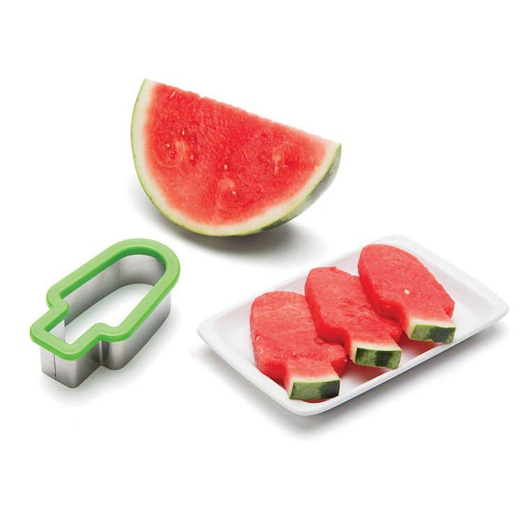 watermelon lolly slices