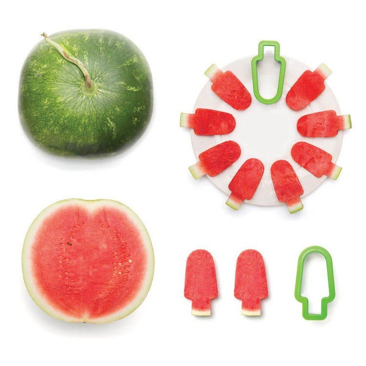watermelons lolly slices