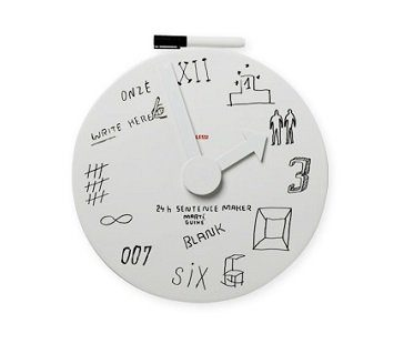 whiteboard clock numbers