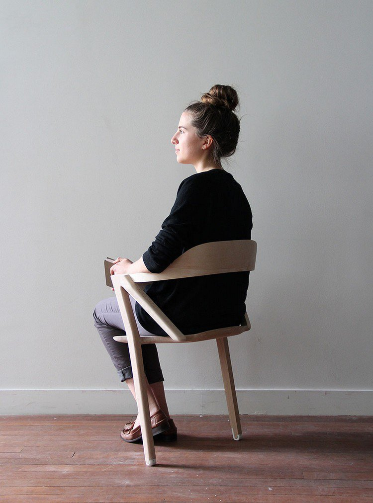 This Two Legged Chair Will Ensure You Never Fall Asleep