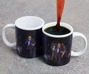 zombie chase heat changing mug
