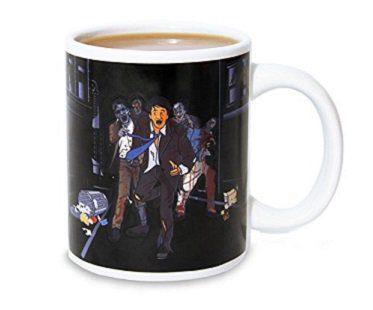 zombie chase heat changing mug apocalypse