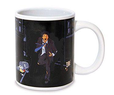 zombie chase heat changing mug coffee
