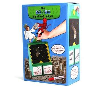 50 50 customized money bank box