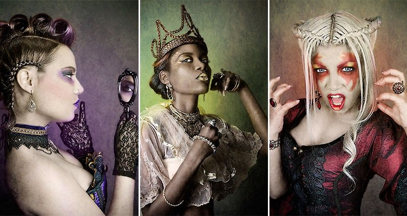 Photographer Takes Striking Portraits Of The 7 Deadly Sins