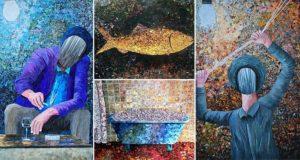 Albin Talik Paper Paintings