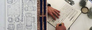 Artist Memorializes Grandfather By Sketching Items In His Old Toolshed