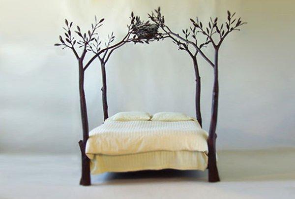 White Pallet Bed Frame